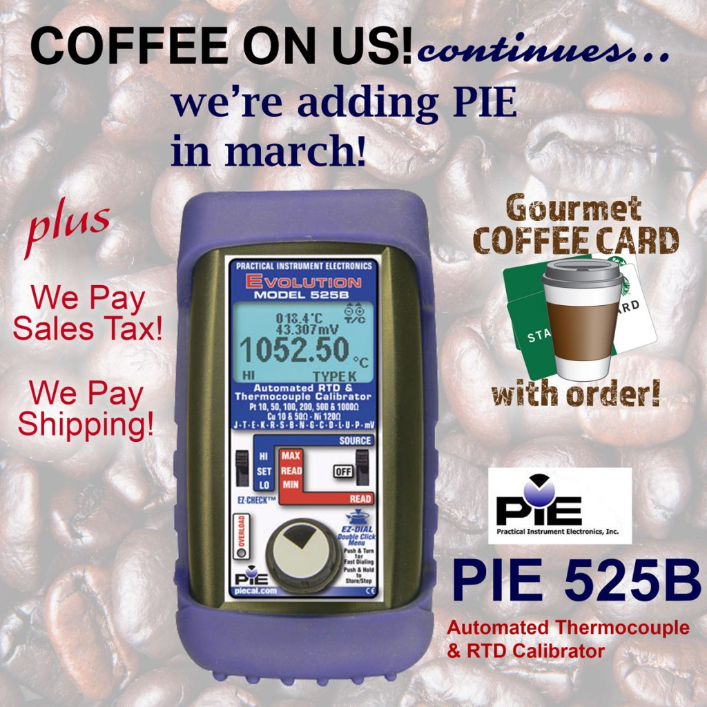 Coffee and PIE 525B