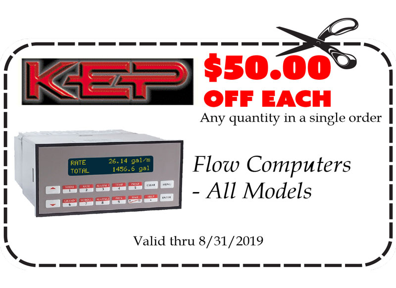 Gift Certificates: KEP Flow Computers