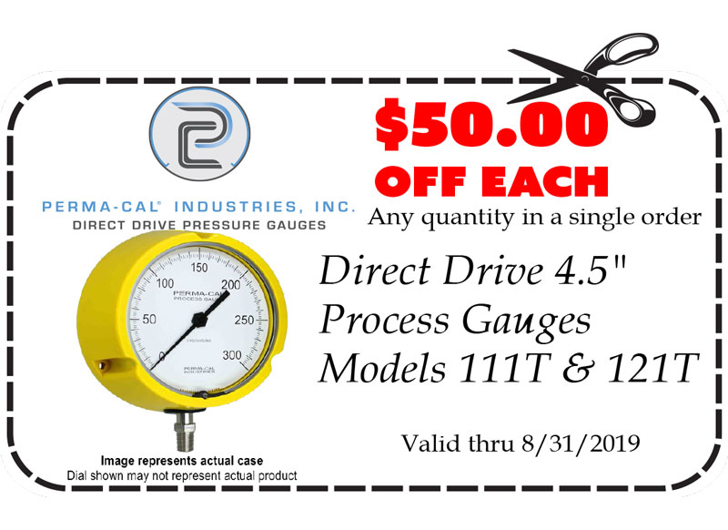 Gift Certificates: Perma Cal Direct Drive 4 inch